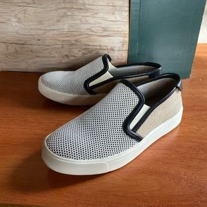 Vince slip on sneakers canvas
